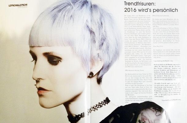 Bericht vom Österreichischen Friseur (Dezember 2015)
