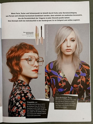 Bericht von Trend Frisuren (April 2019) - Collection: ACCESSOIRES