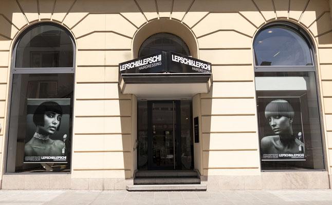 Friseursalon LEPSCHI&LEPSCHI Hairdressing in Linz - Aussenansicht