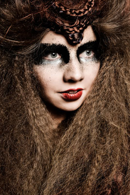 DNA collection avantgarde 2015 - HAIR: Theresa Schirz  I  Foto: Stefan Dokoupil  I  Make-Up: Katharina Lenz & Vanessa Meixner