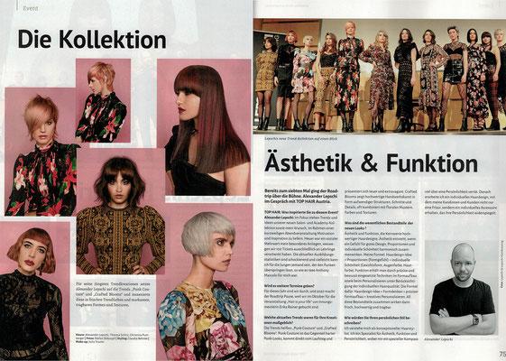 Bericht von TopHair Austria (Dezember 2019) - Roadtrip 2019 und Fashion Classics Collection 2020 - Lepschi&Lepschi Hairdressing Linz