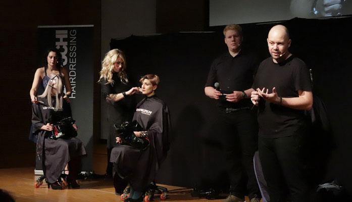 Theresa Schirz (Art Director) und Alexander Lepschi