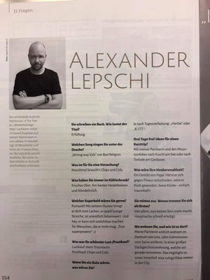Bericht von TopHair Fashion (September 2019) - Alexander Lepschi im Interview
