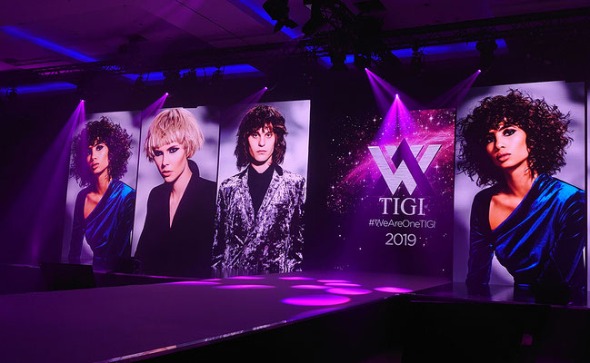 "Alexander Lepschi zu Gast in London ""TIGI European Convention 2019"""