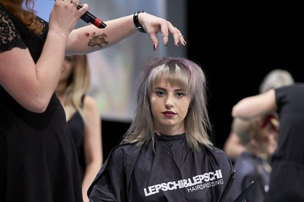 Masterstylistin - Manuela Pirngruber und Model