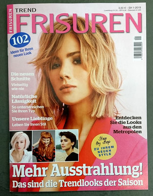 Bericht von Trend Frisuren (April 2019) - Collectionen: INDEPENDET und ACCESSOIRES