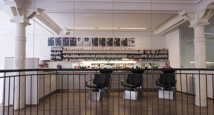 Friseursalon LEPSCHI&LEPSCHI Hairdressing in Linz - Innenansicht Obergeschoss