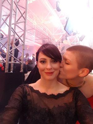 ... ein Selfie mit Christina Pumberger und Sophie Frank