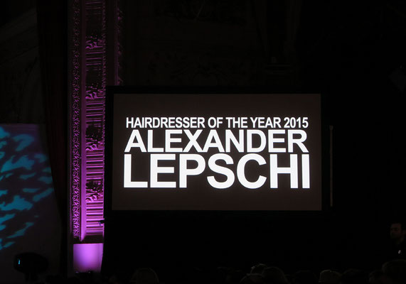 Alexander Lepschi - Hairdresser of the Year 2015 and Hall of Fame Member