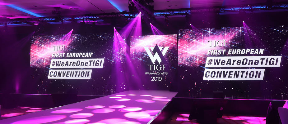 TIGI first european convention - #weareonetigi - London - Alexander Lepschi - Friseur