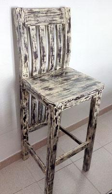 Restauración de silla alta.