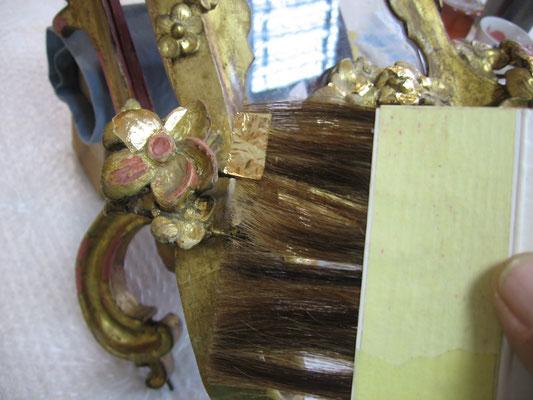 Restauración reloj de sobremesa. Siglo XVIII