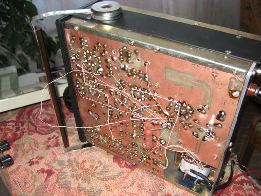 Двухдиапазонный ламповый трансивер