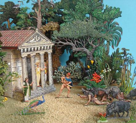Odysseus und Circe