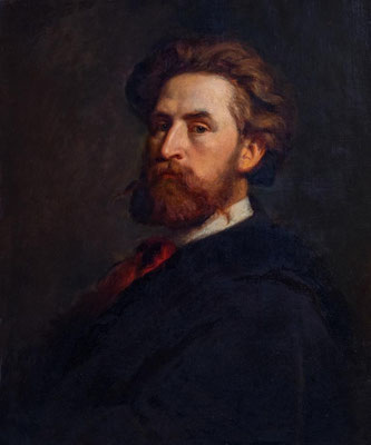 Rudolf Epp (1834 -1910), Selbstbildnis, Privat
