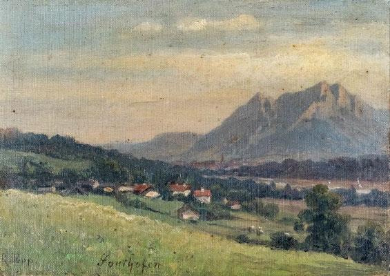 Rudolf Epp (1834 -1910), Malven wangen, Privat