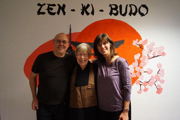 Zu Gsat im Zen-Ki-Budo - Margret Wagner (Zen Dojo Bochum), Andrea Landich (Nippon Velbert)