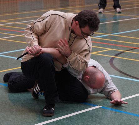 Messerabwehr - Thomas Draganski 7. Dan - Jiu Jitsu - Selbstverteidigung