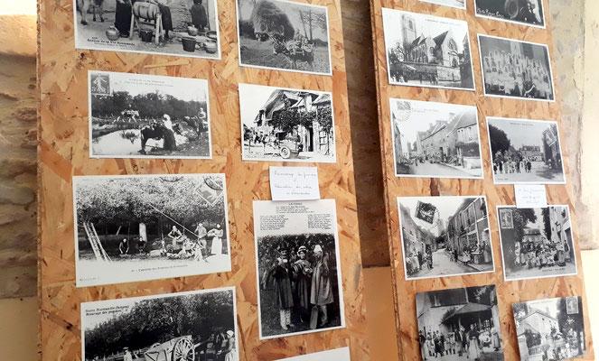 Une belles expo de cartes postales anciennes sur Demouville