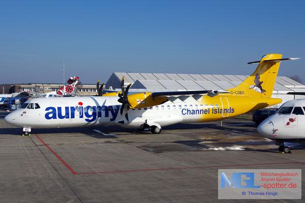 26.01.2017 G-COBO Aurigny Air Services ATR 72-500 cn582