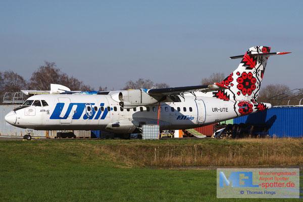05.02.2018 UR-UTE UTair Ukraine ATR 42-300 cn057