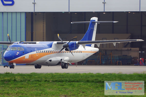 28.10.2015 EI-SLP ASL Airlines / (Islas Airways) ATR 72-212 cn461