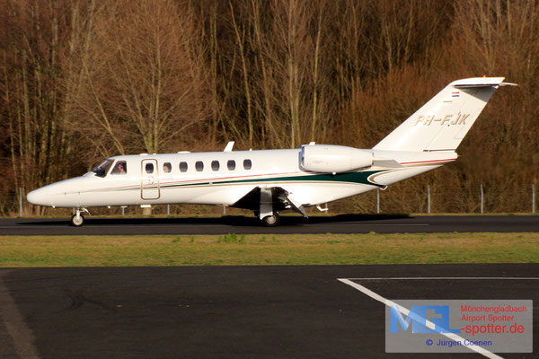 09.01.2019 PH-FJK Cessna 525B CitationJet CJ3