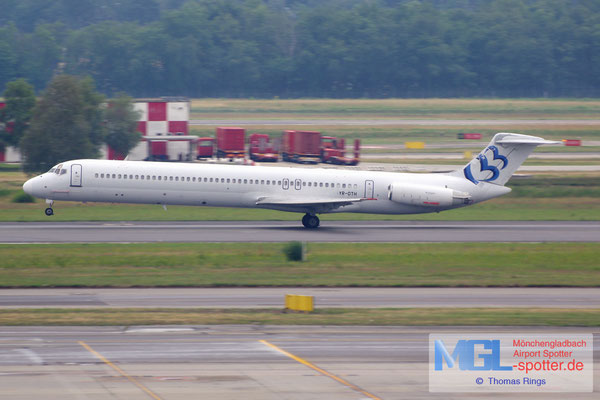 28.06.2014 YR-OTH Ten Airways MD-83