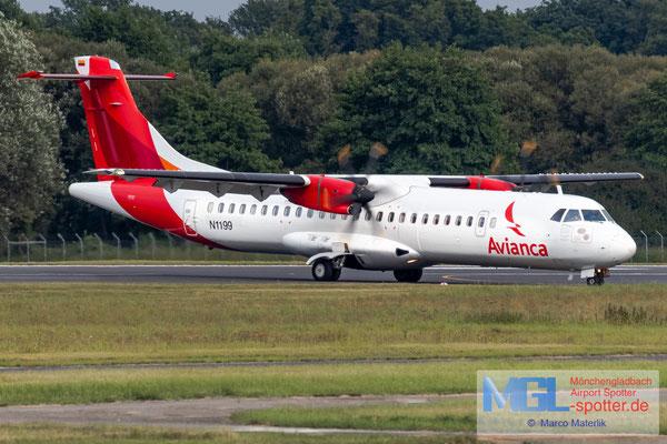 11.09.2021 N1199 Aelis Group / Avianca ATR 72-600 cn1199