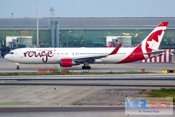 08.10.2014 C-FMXC Air Canada Rouge B767-333ER/W