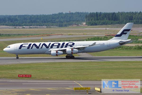 24.07.2014 OH-LQC Finnair A340-313