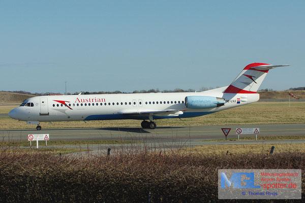 20.04.2013 OE-LVJ Austrian Fokker 100