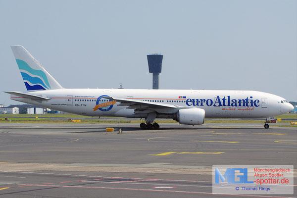 26.07.2014 CS-TFM EuroAtlantic B777-212ER
