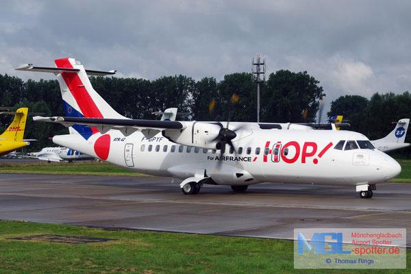 10.08.2016 F-GPYF HOP! ATR 42-500 cn495