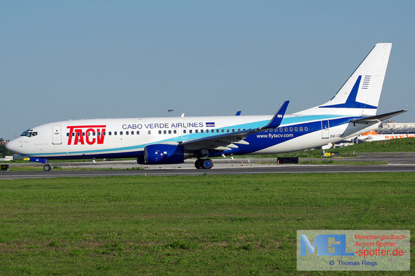 30.10.2013 D4-CBY TACV Cabo Verde Airlines B737-83N/W