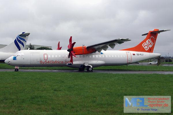 30.03.2015 D2-FLY fly540africa ATR 72-500