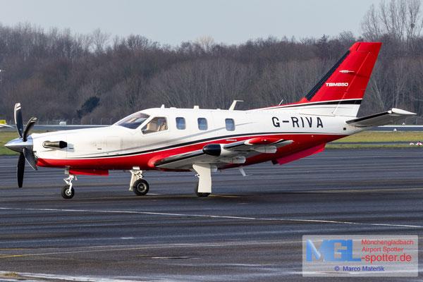 13.01.2021 G-RIVA Socata TBM-850