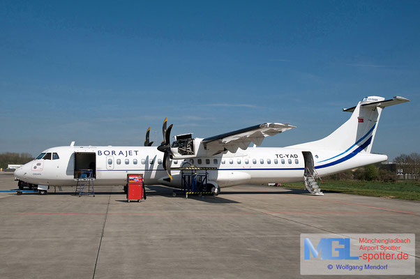 02.04.2011 TC-YAD BoraJet ATR 72-500 cn702