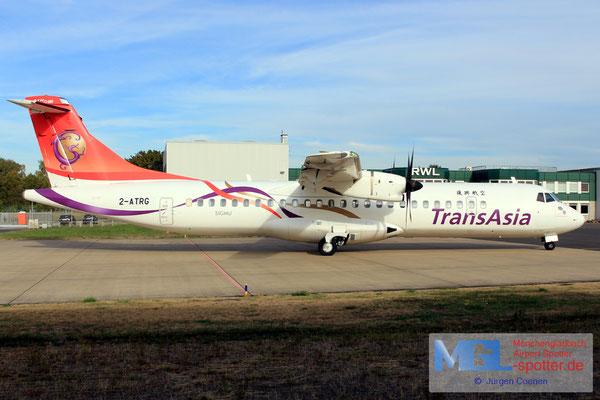 26.09.2018 2-ATRG NAC / Transasia ATR 72-600 cn1261