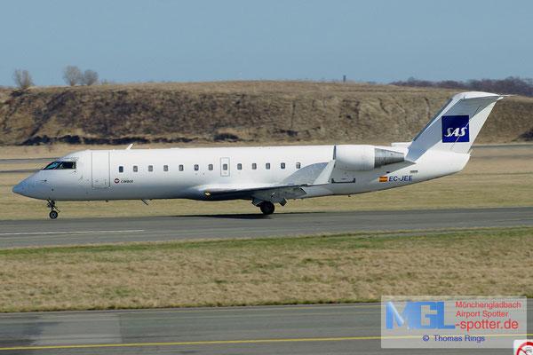 20.04.2013 EC-JEE Air Nostrum / Cimber / SAS CRJ-200LR