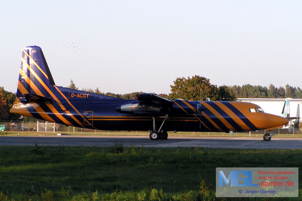 11.10.2004 D-ACCT Avanti Air / (Sky Team) Fokker F-27-500