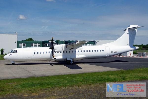 16.05.2017 OY-JZA NAC / (Jettime) ATR 72-600 cn1110