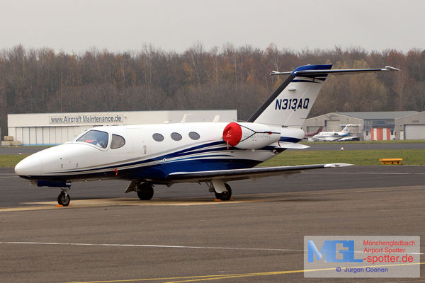 22.11.2018 N313AQ Cessna 510 Citation Mustang