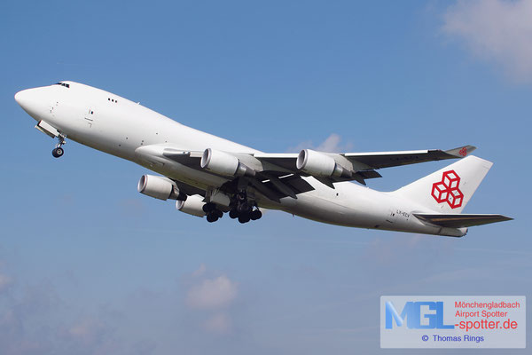 27.09.2014 LX-ECV Cargolux B747-4HQFER
