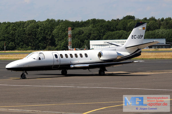 10.07.2016 EC-LEP Cessna 560 Citation V
