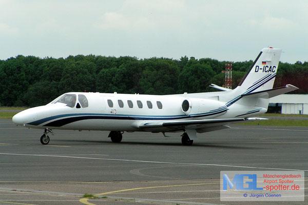 06.07.2005 D-ICAC Cessna 551 Citation 2SP