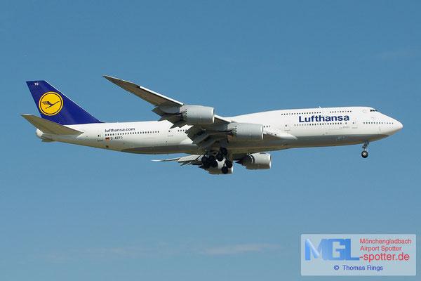 19.05.2013 D-ABYG Lufthansa B747-8i