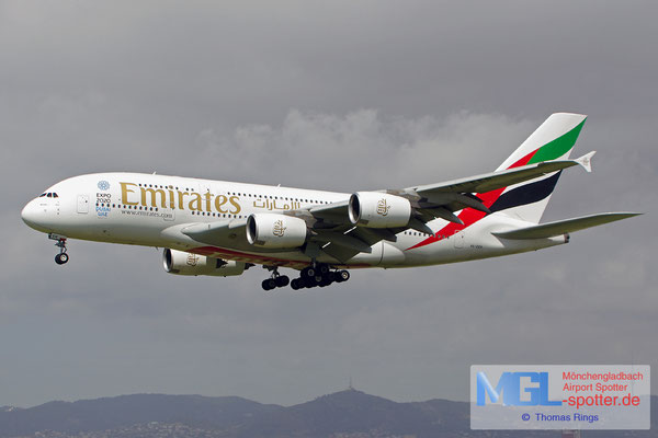 01.04.2015 A6-EER Emirates A380-861