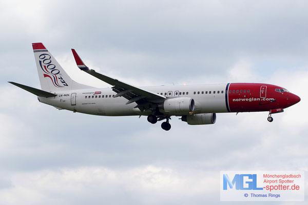 22.06.2014 LN-NOL Norwegian / 6000th 737 B737-8Q8/W