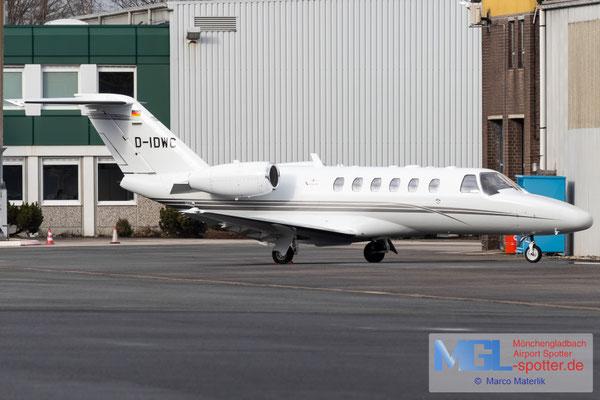 29.01.2021 D-IDWC Cessna 525A CitationJet CJ2